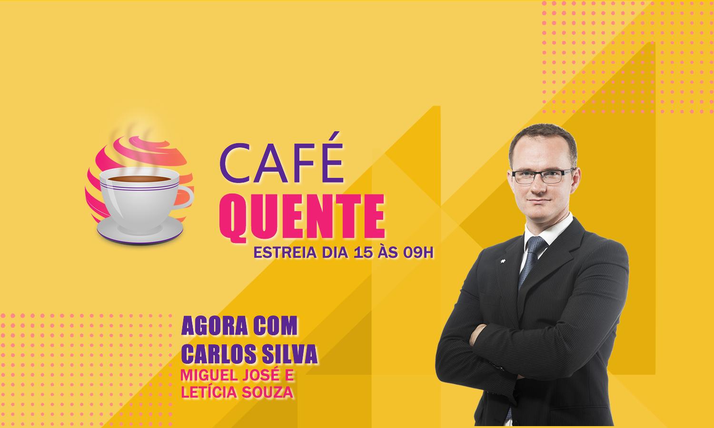 #CafeQuente no programa de hoje Carlos Silva entrevista o Prefeito de Curitiba José Fagundes